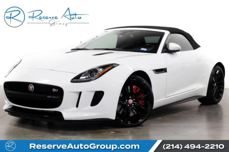 2015 Jaguar F-TYPE V8 S Convertible The Colony TX