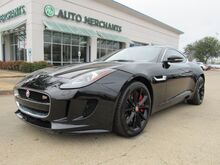 2015_Jaguar_F-Type_S Coupe NAV, BACKUP CAM, MERIDIAN SOUND, HEATED WHEEL, HEATED SEATS._ Plano TX