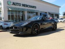2015_Jaguar_F-Type_V8 S Convertible 5.0L 8CYL AUTOMATIC, LEATHER SEATS, NAVIGATION, HEATED SEATS, HEATED STEERING WHEEL_ Plano TX
