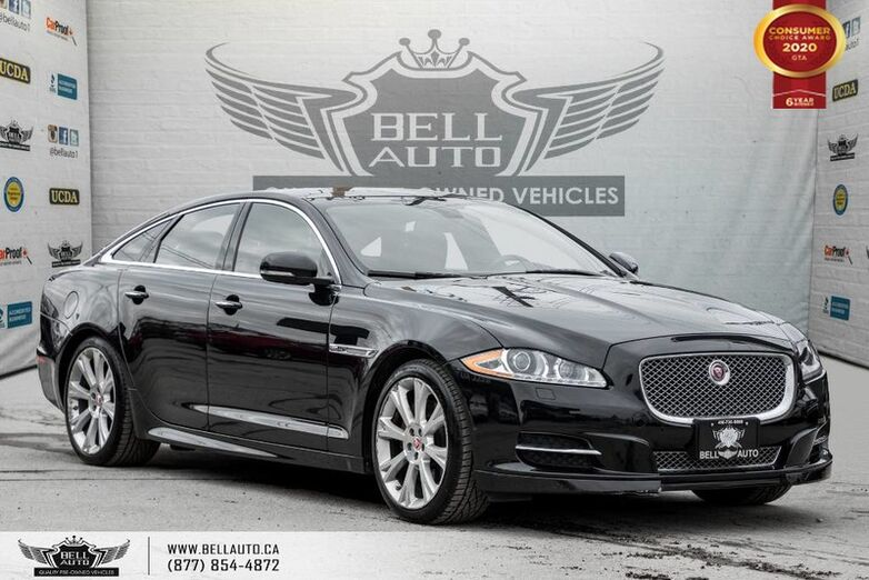 2015 Jaguar XJ Premium Luxury, NO ACCIDENT, AWD, NAVI, REAR CAM, B.SPOT Toronto ON