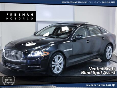 2015_Jaguar_XJL_Portfolio AWD Blind Spot Assist Pano Vented Seats_ Portland OR