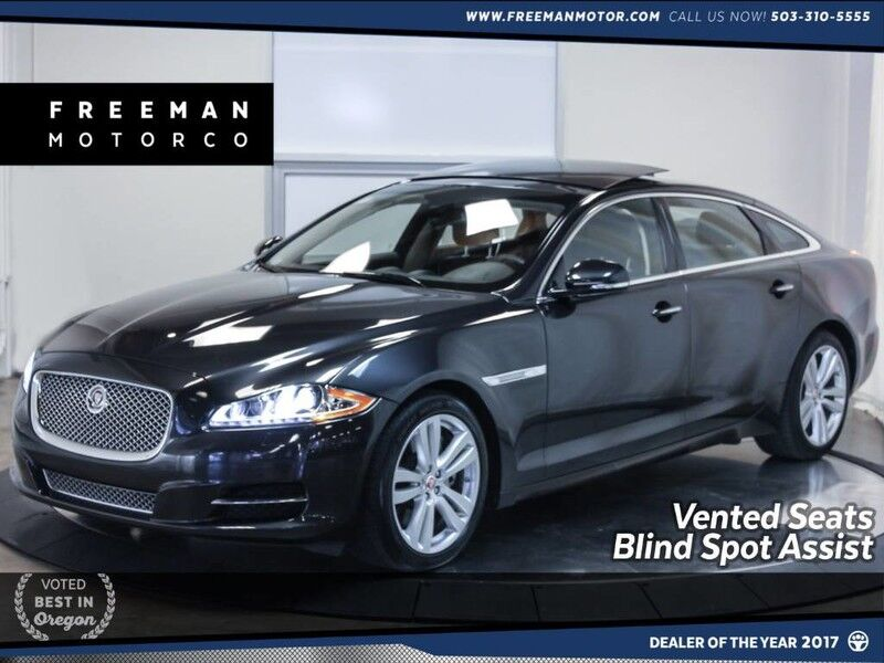 2015 Jaguar XJL Portfolio AWD Blind Spot Assist Pano Vented Seats Portland OR