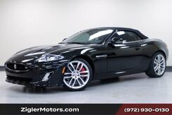 2015_Jaguar_XKR 5.0L SUPERCHARGED V8 510HP_Convertible only 3800 miles!One Owner Clean Carfax Garage kept immaculate Condition_ Addison TX