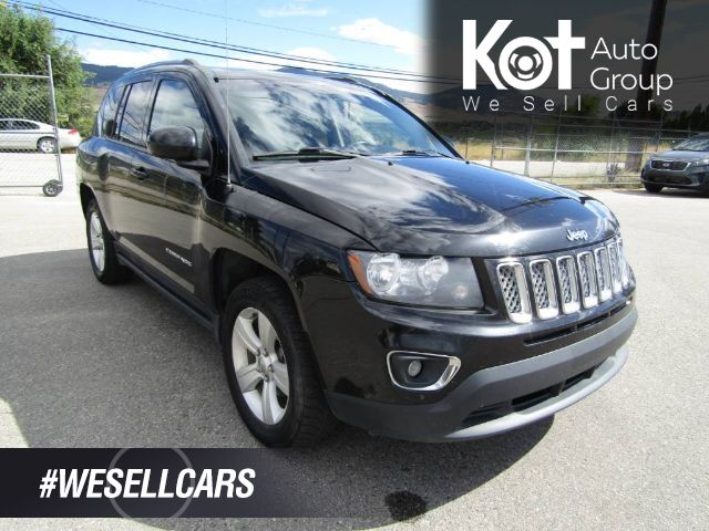 2015 Jeep COMPASS HIGH ALTITUDE! 4X4! LEATHER! SUNROOF! HEATED SEATS! REMOTE START! BEAUTY UNIT! Kelowna BC