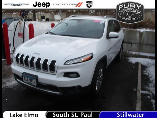 2015 Jeep Cherokee 4WD 4dr Limited Lake Elmo MN