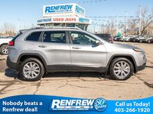 2015_Jeep_Cherokee_4WD Limited, Heated Seats, Remote Start, Backup Camera, Bluetooth, SiriusXM_ Calgary AB