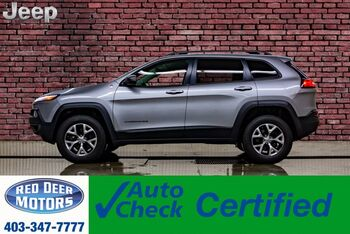 2015_Jeep_Cherokee_4x4 Trailhawk Leather Nav BCam_ Red Deer AB