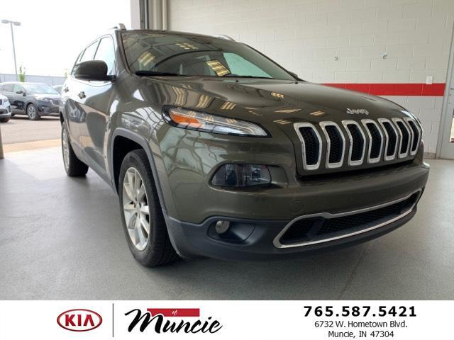 2015 Jeep Cherokee FWD 4dr Limited Muncie IN