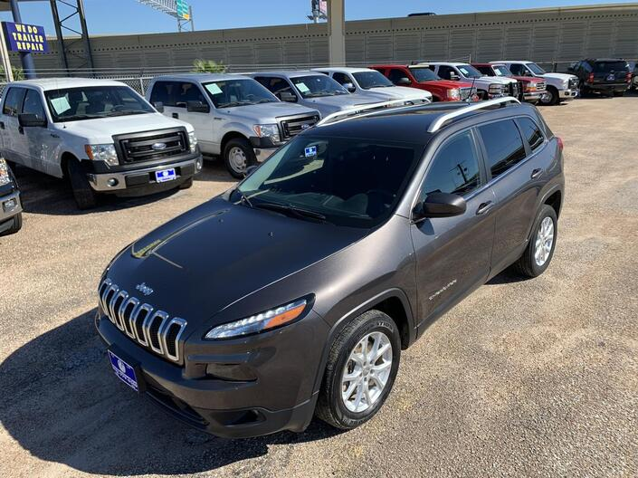 2015 Jeep Cherokee LATITUDE GREAT MILES Houston TX