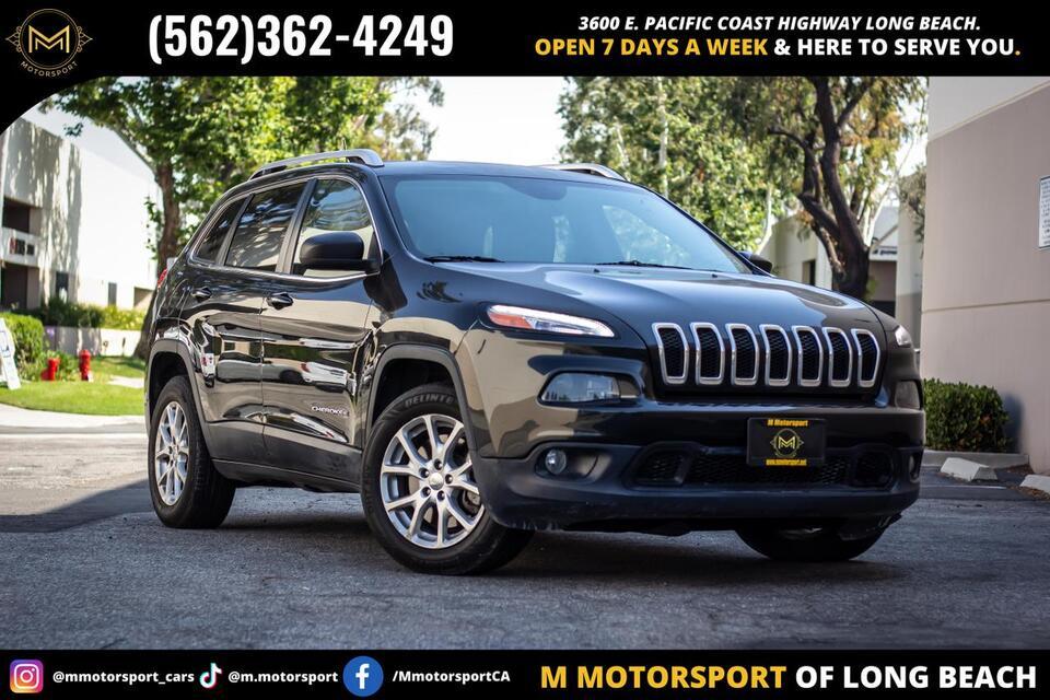 2015_Jeep_Cherokee_Latitude Sport Utility 4D_ Long Beach CA