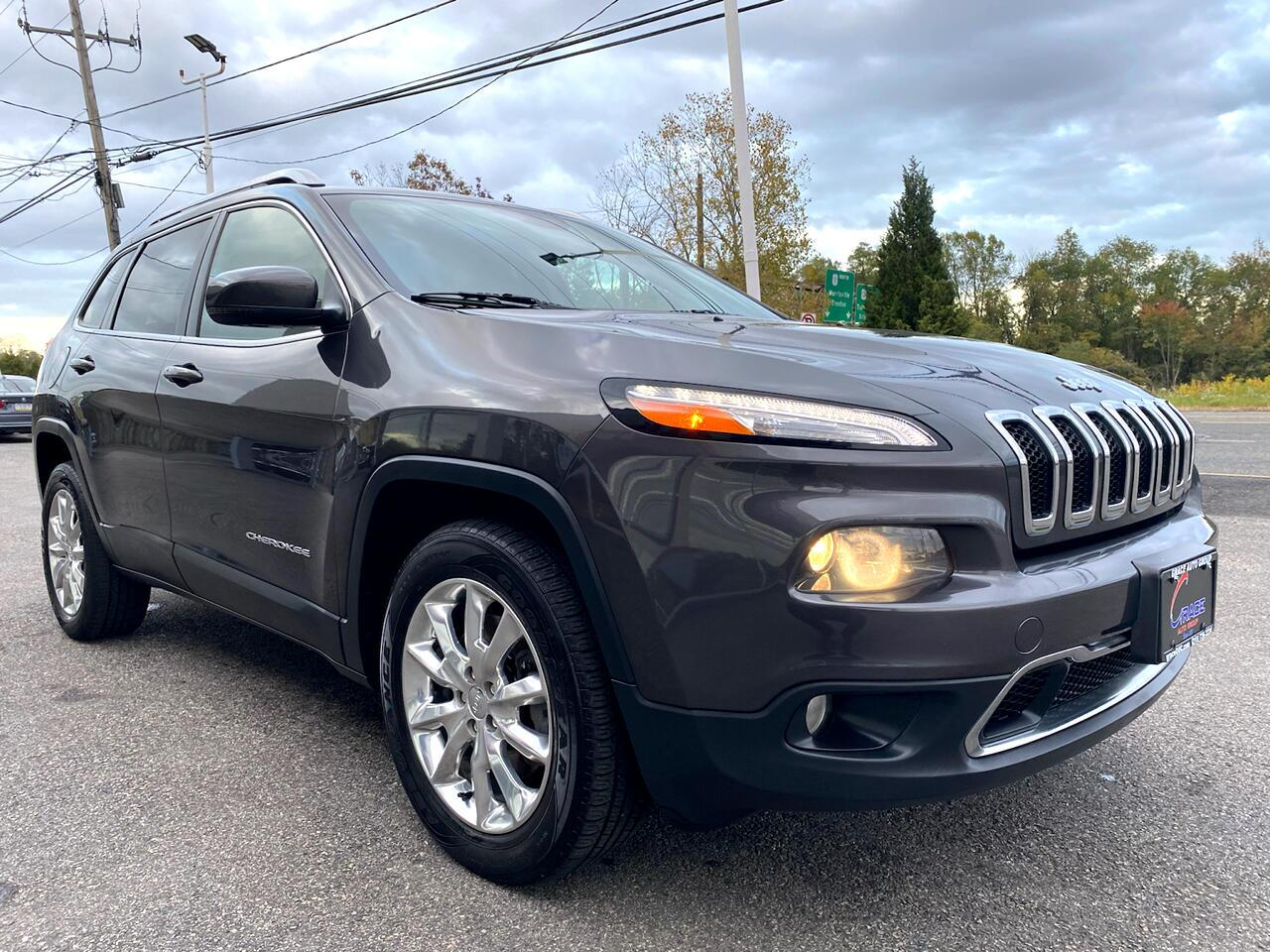 2015 Jeep Cherokee Limited 4WD Morrisville PA