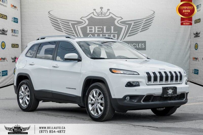 2015 Jeep Cherokee Limited, AWD, NO ACCIDENT, NAVI, BACK-UP CAM, BLINDSPOT
