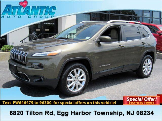 2015 Jeep Cherokee Limited Egg Harbor Township NJ
