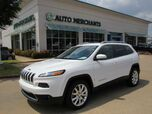2015 Jeep Cherokee Limited FWD LEATHER, HTD FRONT STS, NAVIGATION, KEYLESS START, BACKUP CAMERA