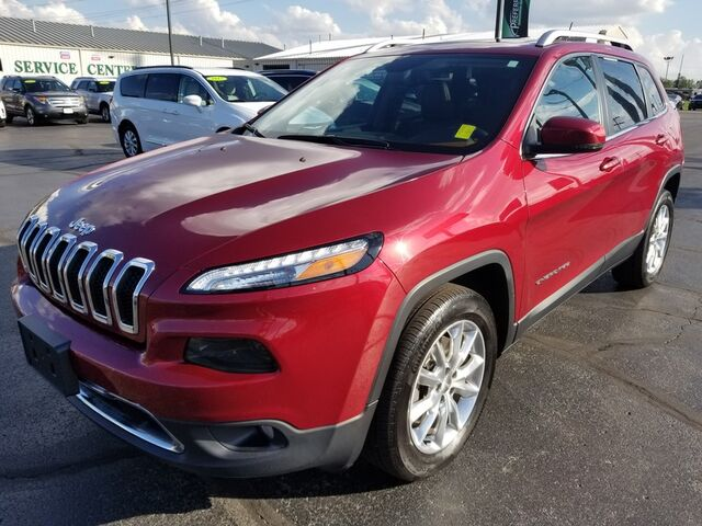 2015 Jeep Cherokee Limited Fort Wayne Auburn and Kendallville IN