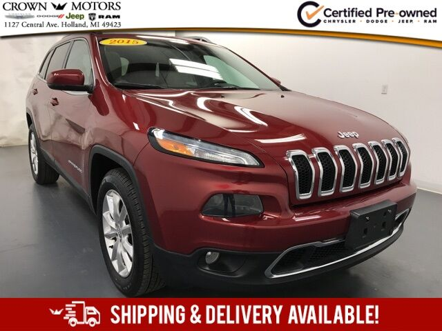 2015 Jeep Cherokee Limited Holland MI