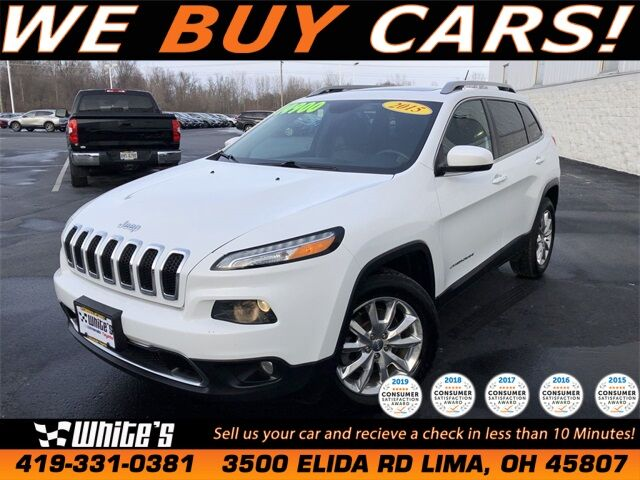 2015 Jeep Cherokee Limited Lima OH