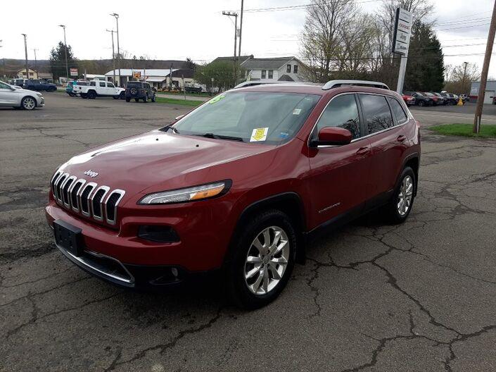 2015 Jeep Cherokee Limited Owego NY