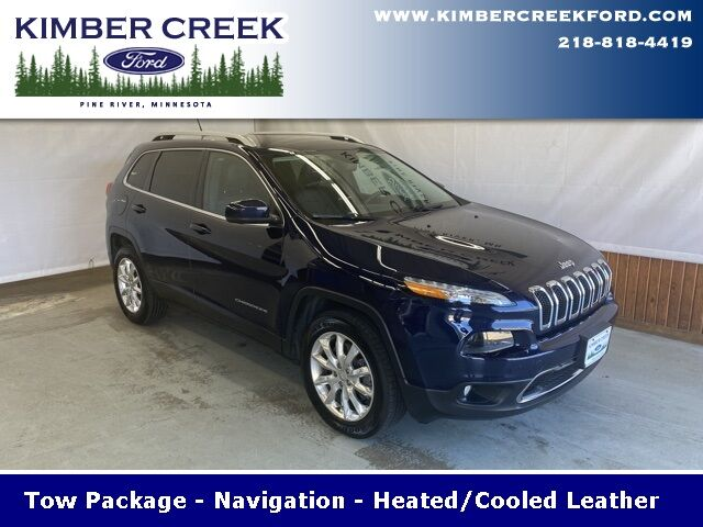 2015 Jeep Cherokee Limited Pine River MN