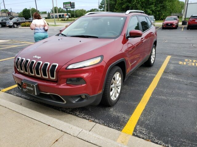 2015 Jeep Cherokee Limited Plymouth WI