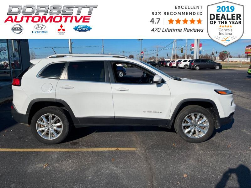 2015 Jeep Cherokee Limited Marshall IL