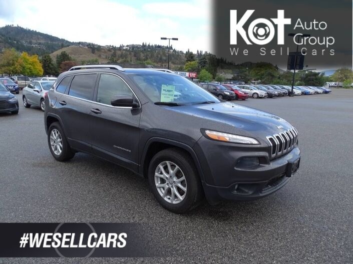 2015 Jeep Cherokee North, No Accidents, Regularly Serviced, Extra Set of Tires Kelowna BC