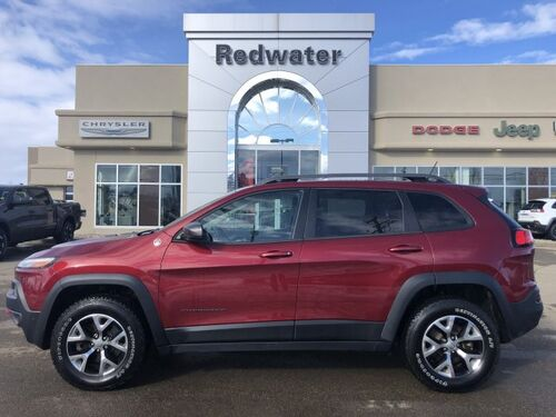 2015_Jeep_Cherokee_Trailhawk - Heated Seats - Sunroof_ Redwater AB