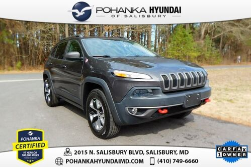 2015_Jeep_Cherokee_Trailhawk **ONE OWNER**_ Salisbury MD