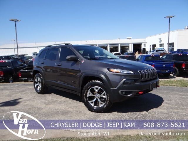 2015 Jeep Cherokee Trailhawk Plymouth WI