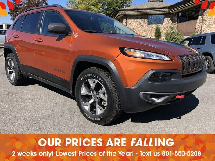 Great 2015 Jeep Cherokee Trailhawk Salt Lake City UT