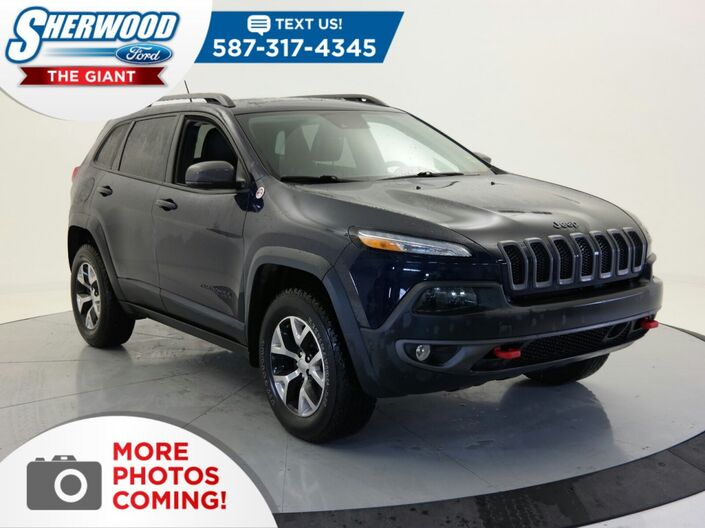 2015 Jeep Cherokee Trailhawk Sherwood Park AB