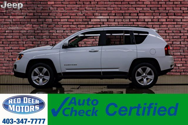 2015 Jeep Compass 4x4 High Altitude Leather Roof Nav BCam Red Deer AB