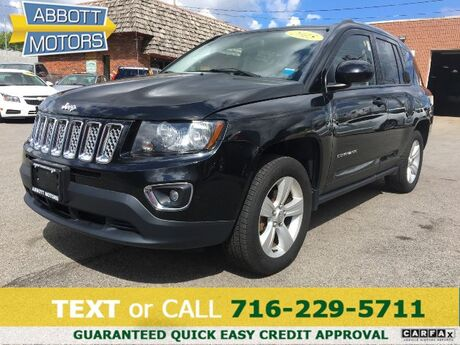 2015 Jeep Compass High Altitude 4WD with Heated Leather Buffalo NY