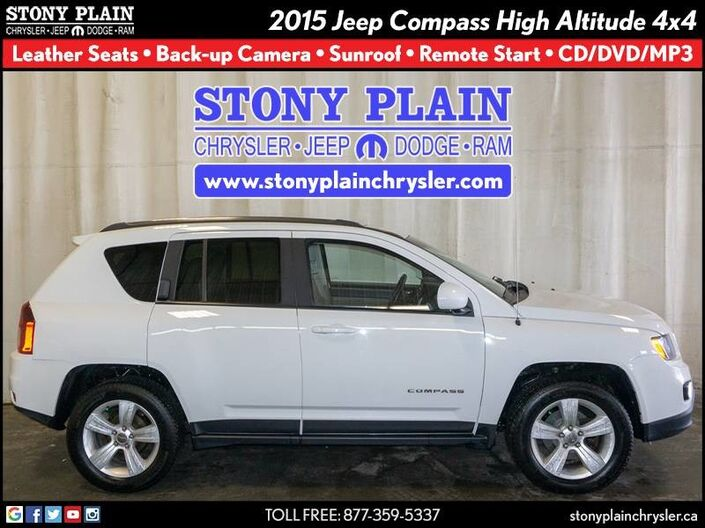 2015 Jeep Compass High Altitude Stony Plain AB