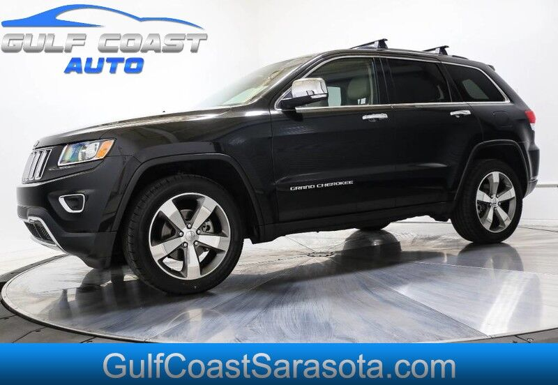 2015 Jeep GRAND CHEROKEE LIMITED NAVI LEATHER FINANCING EXTRA CLEAN Sarasota FL