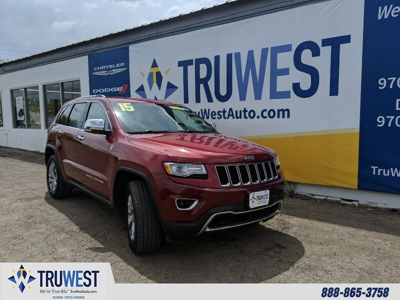 2015 Jeep Grand Cherokee 4WD 4dr Limited Cortez CO