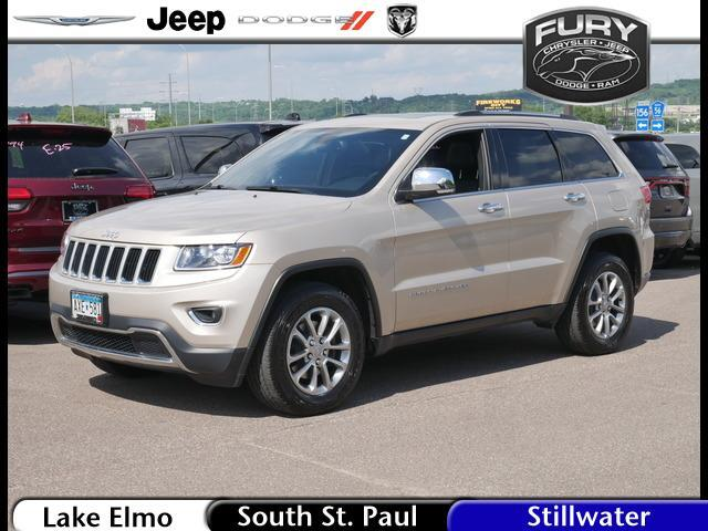 2015 Jeep Grand Cherokee 4WD 4dr Limited St. Paul MN