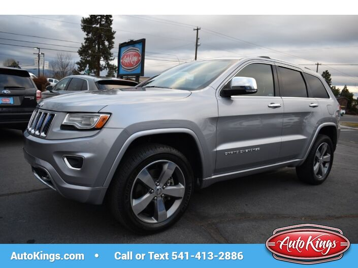 2015 Jeep Grand Cherokee ECO Diesel Overland 4WD Bend OR