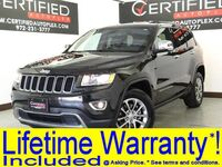 Jeep Grand Cherokee LIMITED 4WD 3.6 V6 NAVIGATION SUNROOF REAR CAMERA LEATHER HEATED SEATS 2015