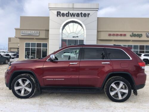 2015_Jeep_Grand Cherokee_Limited - 3.6L Engine - Heated Seats/ Steering Wheel - Remote Start_ Redwater AB