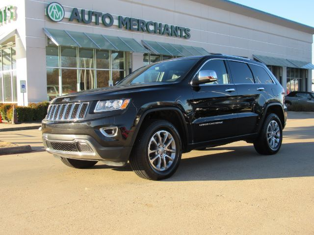 2015 Jeep Grand Cherokee Limited 4WD DIESEL, LEATHER SEATS, BLUETOOTH CONNECTION, NAVIGATION SYSTEM, BACK-UP CAMERA Plano TX