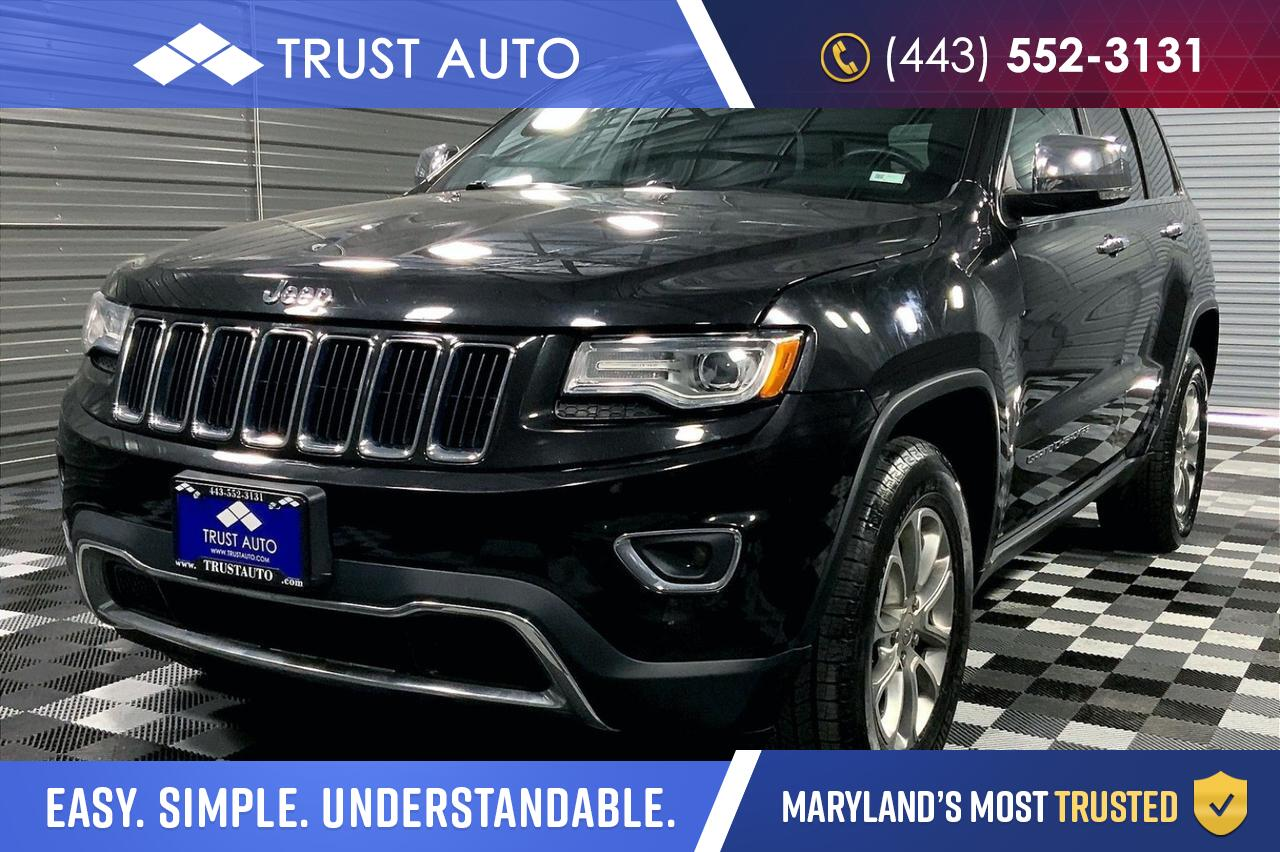 2015 Jeep Grand Cherokee Limited 4WD Diesel Luxury SUV Sykesville MD