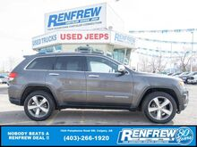 2015_Jeep_Grand Cherokee_Limited 4x4, Sunroof, Remote Start, Heated Leather, Bluetooth_ Calgary AB