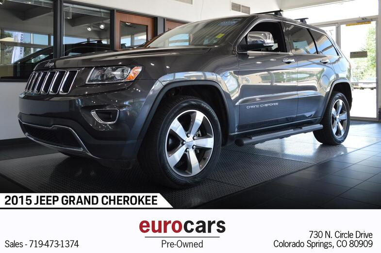 2015 Jeep Grand Cherokee Limited Colorado Springs CO