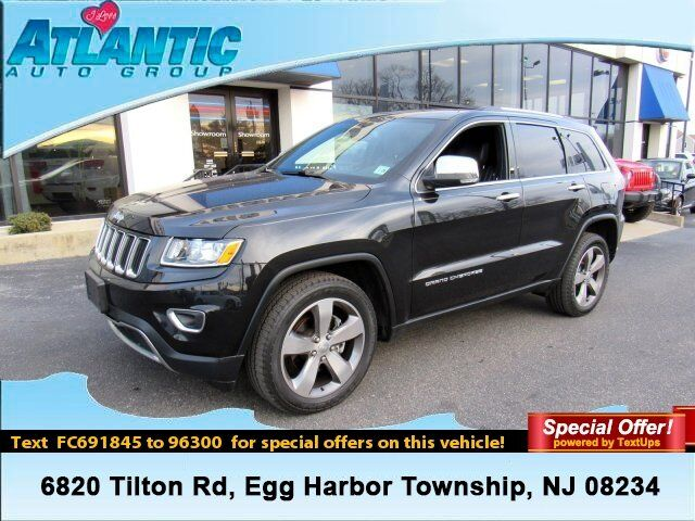 2015 Jeep Grand Cherokee Limited Egg Harbor Township NJ