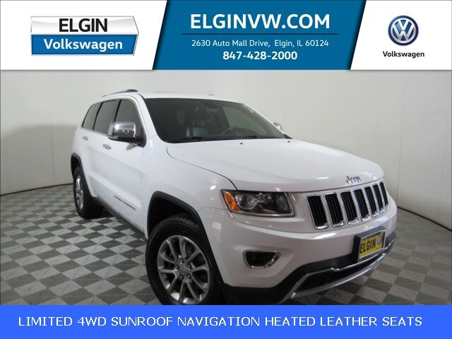 2015 Jeep Grand Cherokee Limited Elgin IL
