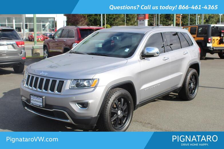2015 Jeep Grand Cherokee Limited Everett WA