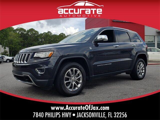 2015 Jeep Grand Cherokee Limited Jacksonville FL