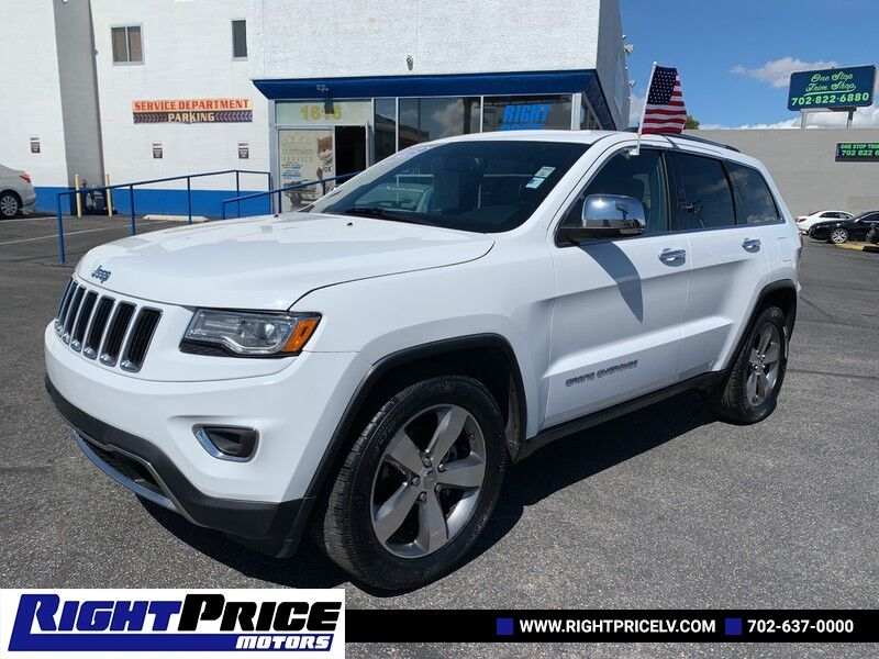 2015 Jeep Grand Cherokee Limited Las Vegas NV
