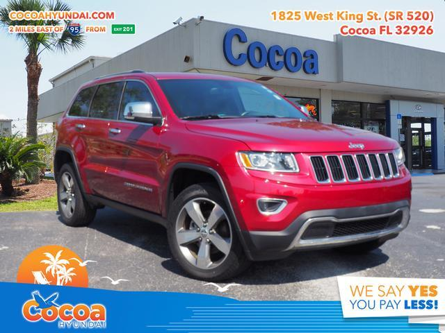 2015 Jeep Grand Cherokee Limited Melbourne FL